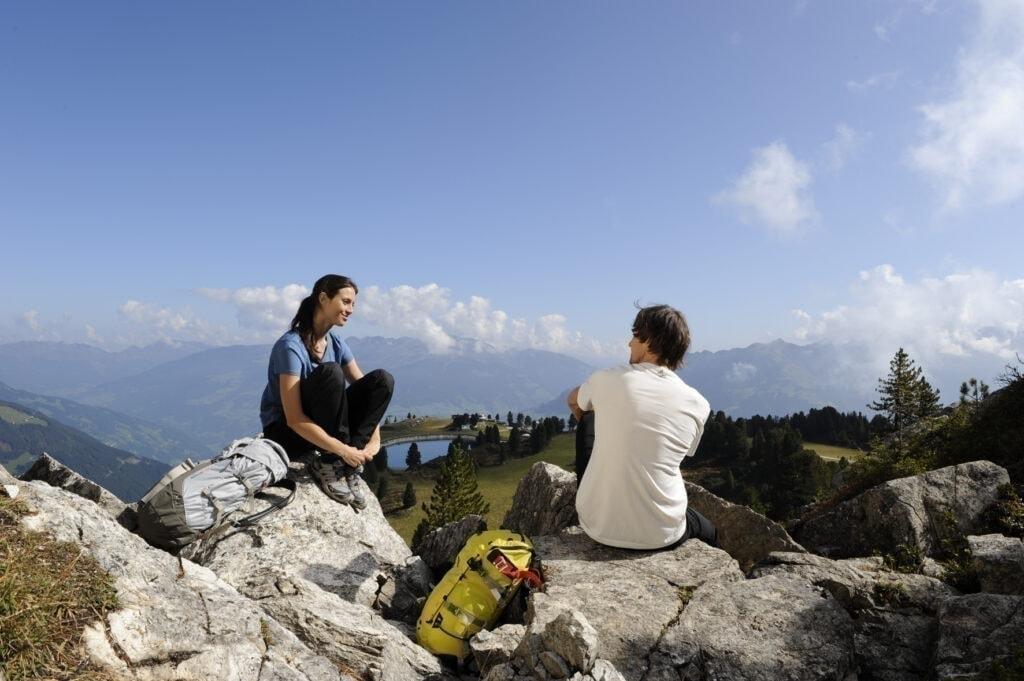 Wandern in Mayrhofen im Zillertal